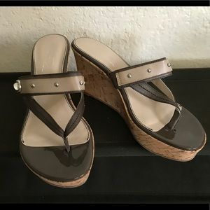 """Marc Fisher 3"""" Wedge Sandals"""